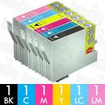 Epson 81N High Yield 6 Pack Compatible Inkjet Cartridge Combo