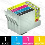 Epson T0561-T0564 4 Pack Compatible Inkjet Cartridge Combo