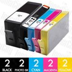 HP 564XL (CN684WA + CB322WA-CB325WA) High Yield 10 Pack Compatible Inkjet Cartridge Combo