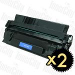 HP 29X (C4129X) Black 2 Pack Compatible Toner Cartridge