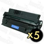 HP 29X (C4129X) Black 5 Pack Compatible Toner Cartridge