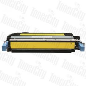 HP 642A (CB402A) Yellow Compatible Toner Cartridge