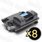 HP 64X (CC364X) Black High Yield 8 Pack Compatible Toner Cartridge
