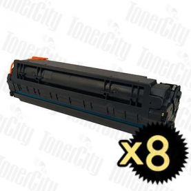 HP 78A (CE278A) Black 8 Pack Compatible Toner Cartridge