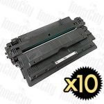 HP 14A (CF214A) Black 10 Pack Compatible Toner Cartridge