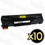 HP 83A (CF283A) Black 10 Pack Compatible Toner Cartridge
