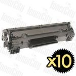 HP 83X (CF283X) Black 10 Pack Compatible Toner Cartridge