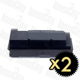 Non-Genuine alternative for TK-364 2 Pack Toner Cartridge Suitable for Kyocera FS-4020DN