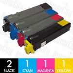 Non-Genuine alternative for TK-544 5 Pack Toner Cartridge Suitable for Kyocera FS-C5100DN