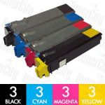 Non-Genuine alternative for TK-544 12 Pack Toner Cartridge Suitable for Kyocera FS-C5100DN