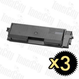 Non-Genuine alternative for TK-564K Black 3 Pack Toner Cartridge Suitable for Kyocera FS-C5300DN,C5350DN, P-6030CDN