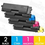 Non-Genuine alternative for TK-564 5 Pack Toner Cartridge Suitable for Kyocera FS-C5300DN,C5350DN, P-6030CDN