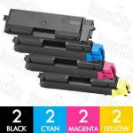 Non-Genuine alternative for TK-564 8 Pack Toner Cartridge Suitable for Kyocera FS-C5300DN,C5350DN, P-6030CDN