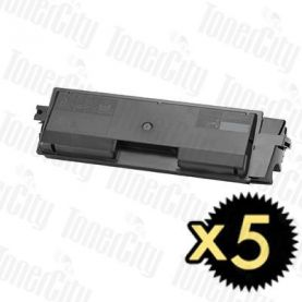 Non-Genuine alternative for TK-584K 5 Pack Black Toner Cartridge Suitable for FS-C5150DN