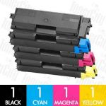 Non-Genuine alternative for TK-584 4 Pack Toner Cartridge Suitable for FS-C5150DN