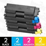 Non-Genuine alternative for TK-584 8 Pack Toner Cartridge Suitable for FS-C5150DN