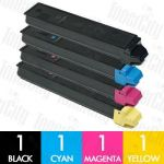 Non-Genuine alternative for TK-899 4 Pack Toner Cartridge Suitable for Kyocera FS-C8020MFP,C8025MFP,C8520MFP,C8525MFP