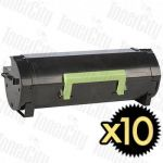 Lexmark 50F3H00 (MS310/MS410/MS510/MS610) High Yield 10 Pack Compatible Toner Cartridge