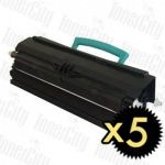 Lexmark E260A11P (E260/E360/E460/E462DTN) 5 Pack Compatible Toner Cartridge
