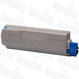 OKI 43459355 (C3300/C3400/C3600) Cyan High Yield Compatible Toner Cartridge