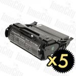 Lexmark T650H11P (T650/T652/T654) Black 5 Pack Compatible Toner Cartridge