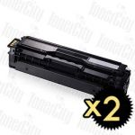 Samsung CLT-K504S Black 2 Pack Compatible Toner Cartridge
