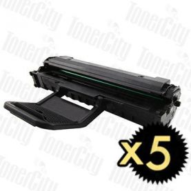 Samsung ML-1610D2 Black 5 Pack Compatible Toner Cartridge