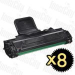 Samsung ML-2010D3 Black 8 Pack Compatible Toner Cartridge