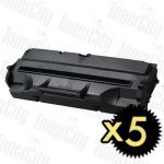 Samsung ML-4500D3 Black 5 Pack Compatible Toner Cartridge