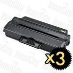 Samsung MLT-D103L Black 3 Pack Compatible Toner Cartridge