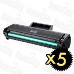 Samsung MLT-D104S Black 5 Pack Compatible Toner Cartridge