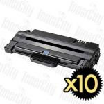 Samsung MLT-D105L Black High Yield 10 Pack Compatible Toner Cartridge