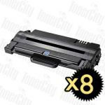 Samsung MLT-D105L Black High Yield 8 Pack Compatible Toner Cartridge