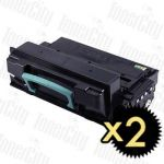 Samsung MLT-D203E Black Extra High Yield 2 Pack Compatible Toner Cartridge