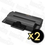 Samsung MLT-D208L Black High Yield 2 Pack Compatible Toner Cartridge