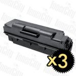Samsung MLT-D307E Black Extra High Yield 3 Pack Compatible Toner Cartridge