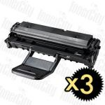 Samsung SCX-D4725A Black 3 Pack Compatible Toner Cartridge