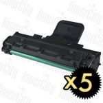 Fuji Xerox CWAA0683 (WorkCentre PE220) 5 Pack Compatible Toner Cartridge
