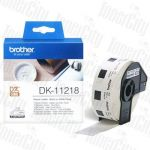 Brother DK-11218 (24mm) White Genuine Label Roll