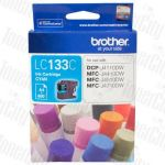 Brother LC-133C Cyan Genuine Inkjet Cartridge