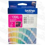 Brother LC-135XLM Magenta High Yield Genuine Inkjet Cartridge