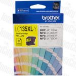 Brother LC-135XLY Yellow High Yield Genuine Inkjet Cartridge