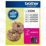 Brother LC-233M Magenta Genuine Inkjet Cartridge