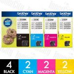 Brother LC-233 10 Pack Genuine Inkjet Cartridge Combo