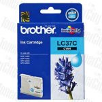 Brother LC-37C Cyan Genuine Inkjet Cartridge