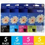Brother LC-39 20 Pack Genuine Inkjet Cartridge Combo