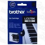 Brother LC-57BK Black Genuine Inkjet Cartridge