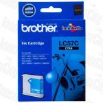 Brother LC-57C Cyan Genuine Inkjet Cartridge
