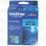Brother LC-67C Cyan Genuine Inkjet Cartridge