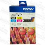 Brother LC-73PVP Photo Value Pack Genuine Inkjet Cartridge